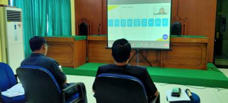 Virtual Kick Off Meeting bersama BAWAS MARI & SUSTAIN